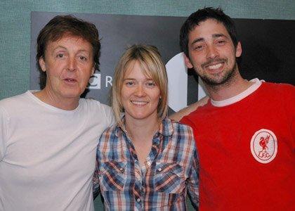 "Пол Маккартни на радио-шоу ""Colin & Edith"" (Radio 1)"