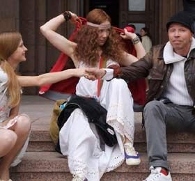 Гарик Сукачев снимает фильм о московских хиппи