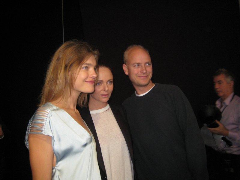 Пол Маккартни на Paris Fashion Week