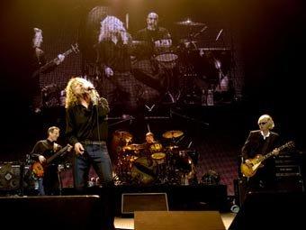 Led Zeppelin на О2 Arena в Лондоне. Фото ©AFP