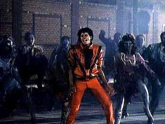 Кадр из видеоклипа 'Thriller'