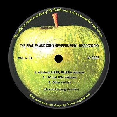 Beatles on vinyl
