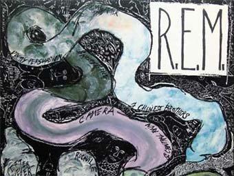 Фрагмент обложки альбома 'Reckoning' R.E.M.