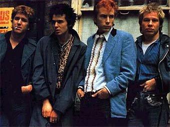 Sex Pistols. Фото 1970-х годов с сайта clashmusic.com