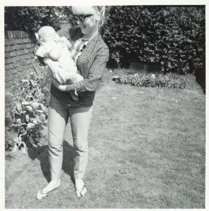 Cynthia Lennon and Julian Lennon. (From the Cynthia Lennon Collection.)