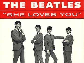Британцы выбрали самый продаваемый сингл The Beatles