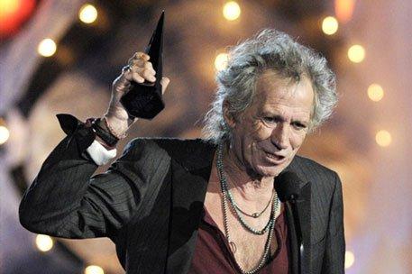 Кит Ричардс получил Rock Immortal Award