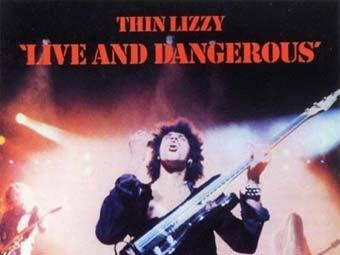 Обложка Live and Dangerous группы Thin Lizzy
