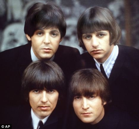 Fab: The Beatles, clockwise from top left, Paul McCartney, Ringo Starr, John Lennon and George Harrison
