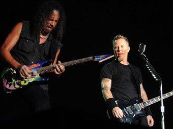 Metallica. Фото ©AFP