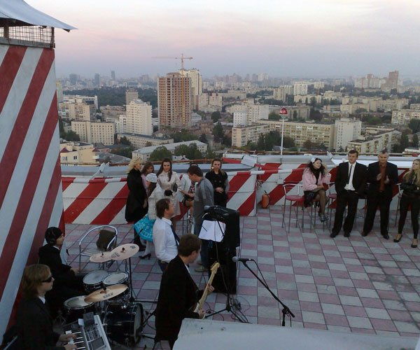 Вечеринка-концерт 'НА ВЫСОТЕ' 27 - го этажа