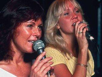 Агнета Фельтског и Анни-Фрид Лингстад, фото с сайта ABBA