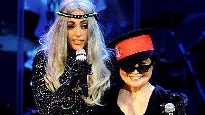 Lady Gaga выступила вместе с Йоко Оно и Plastic Ono Band