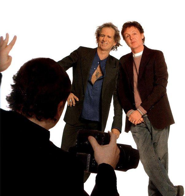 Пол Маккартни и Кит Ричардс записали совместную песню