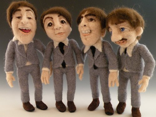 Шерстяные The Beatles
