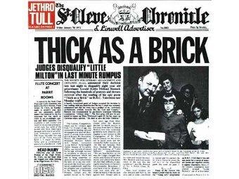Обложка альбома 'Thick as a Brick'