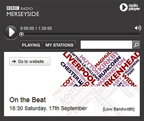 Наш одноклубник Сергей Радченко на BBC Radio Merseyside