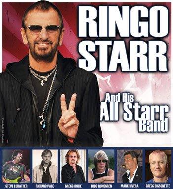 Ринго Старр анонсирован новый состав All Starr Band