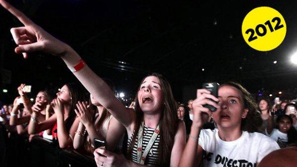 Фанатки The Beatles vs. фанатки One Direction