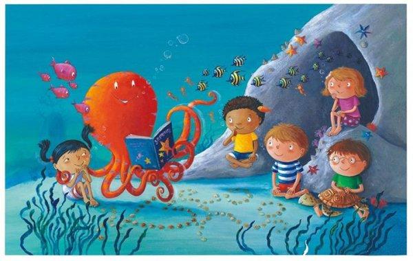Обнародована первая иллюстрация к книге Ринго Старра «Octopus`s Garden»