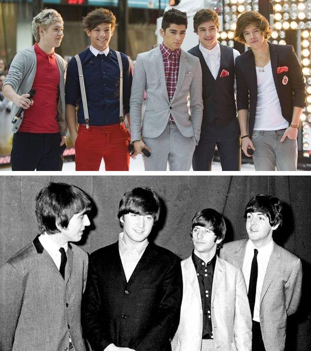 One Direction считают себя больше, чем The Beatles