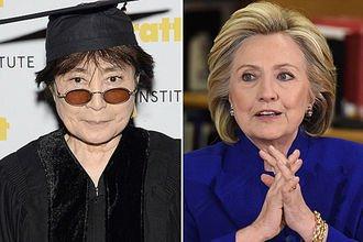 'Роман' Йоко Оно и Хиллари Клинтон оказался фейком