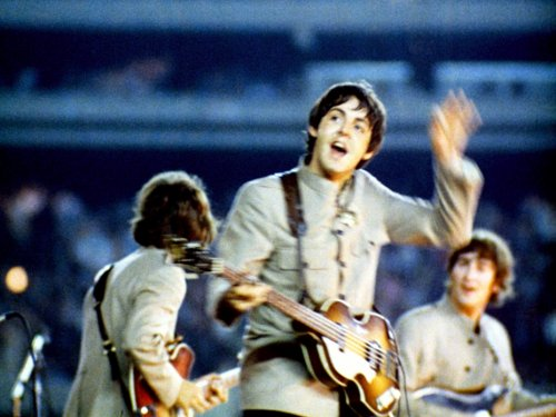 Rонцерту Битлз на стадионе Shea - 50 лет