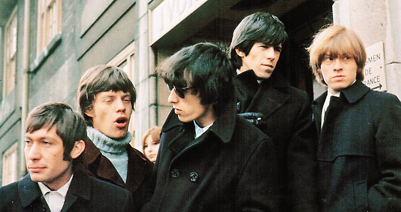 The Rolling Stones в Лондоне, 1966 год