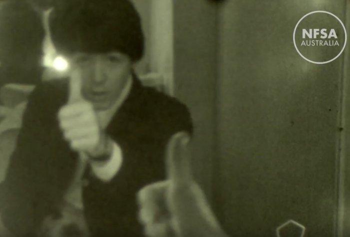 В Сети появилось неизвестное видео The Beatles