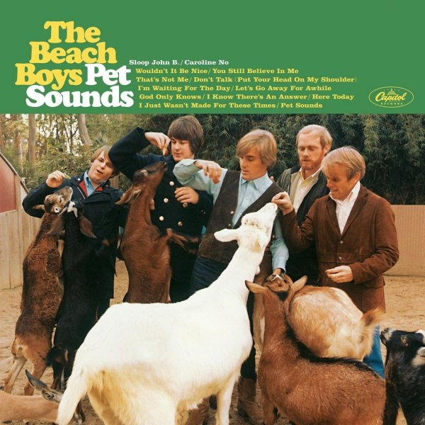 Альбому The Beach Boys 'Pet Sounds' - 50 лет