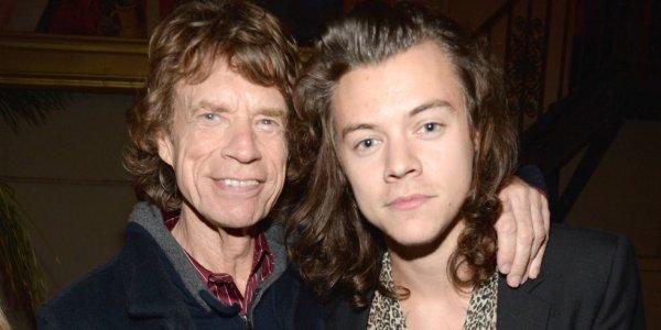 Мик Джаггер (The Rolling Stones) и Гарри Стайлс (One Direction)