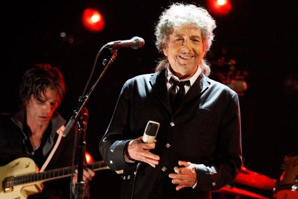 Боб Дилан на концерте в The Hollywood Palladium