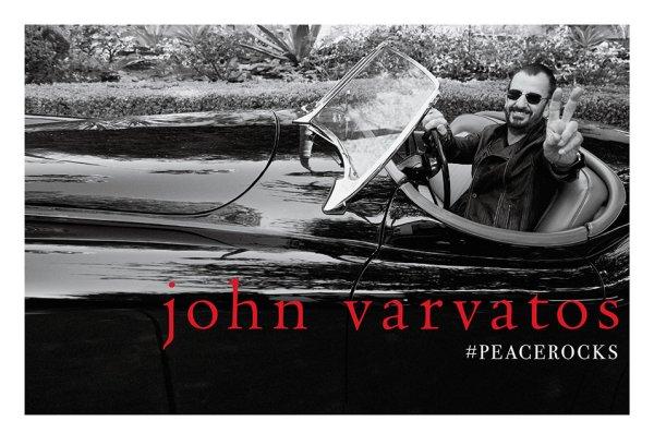 Ринго Старр в промо-кампании 'Peace Rocks'