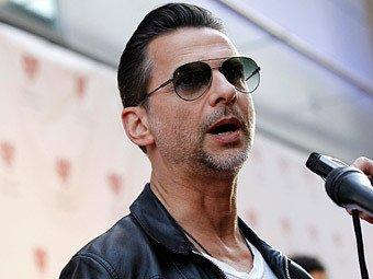Вокалист Depeche Mode Дэвид Гаан. Фото Reuters