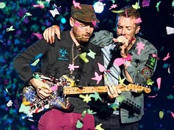 Coldplay. Фото ©AFP