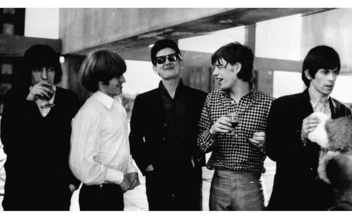 Рой Орбисон с The Rolling Stones