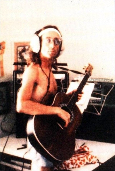 Джон Леннон в 1980-м