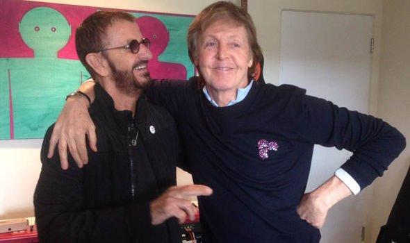 Пол и Ринго, снова вместе