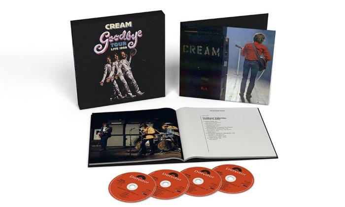 Последний тур Cream будет выпущен на CD