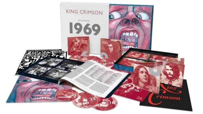 King Crimson выпустят 26-дисковый бокс-сет 'The Complete 1969 Recordings'