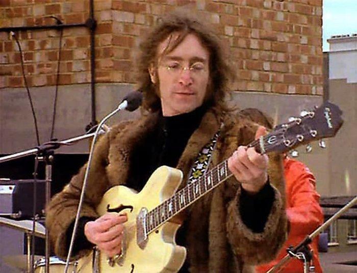 Битлз, Джон Леннон, концерт на крыше, 30 января 1969 года.