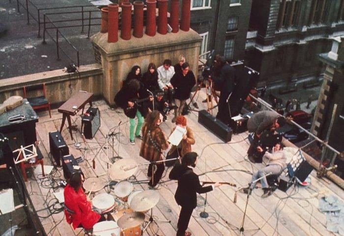 Битлз, концерт на крыше, 30 января 1969 года.