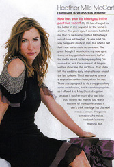 Хизер Миллз на страницах Red Magazine