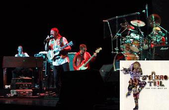 Группа Jethro Tull дала два концерта на сцене